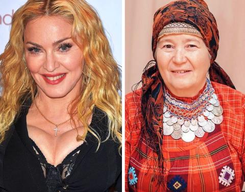 Трудно поверить, что эти звездные  дамы одного возраста, правда?!
