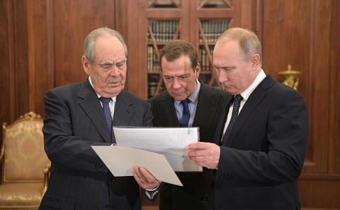 Встреча с Минтимером Шаймиевым