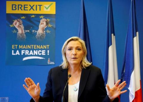 Ле Пен обещает французам реф…