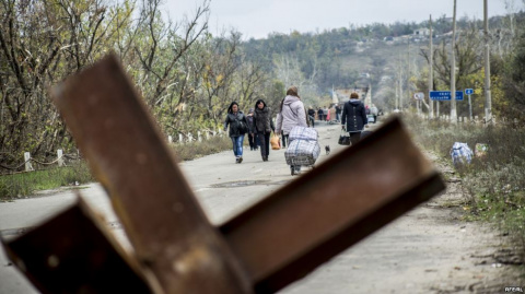 На Донбассе на блокпосту умер мужчина