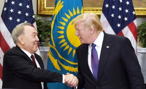 Казахстан впустит Америку в …