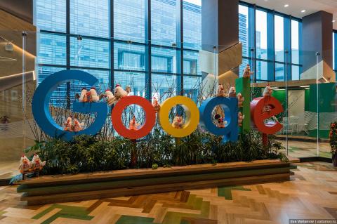 Офис Google в Сингапуре: хот…