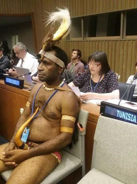 В Нью-Йорке на заседание ООН…