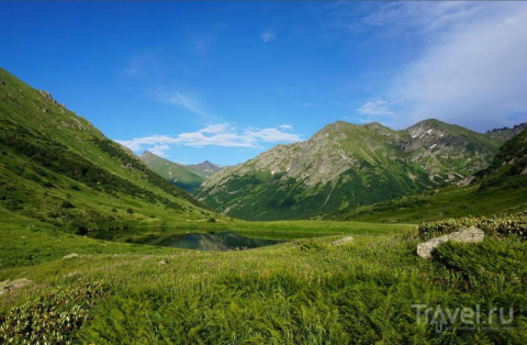 Долина Дзитаку. Семиозерье