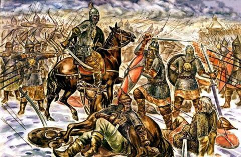 Великие битвы в русской исто…
