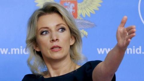 Захарова предложила вариант надписи при входе в кабинет президента США