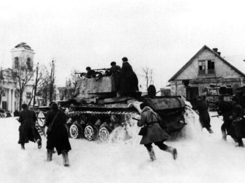 Распределение сил Красной Армии в 1941-1942 годах по ТВД