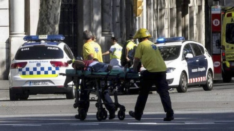 Фургон террористов из Барселоны может находиться во Франции