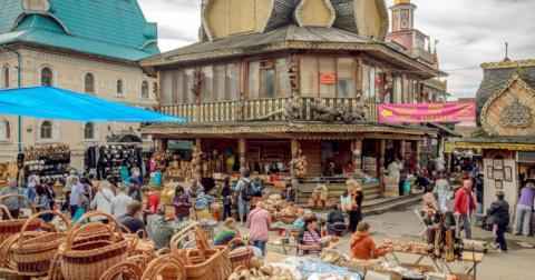 Ярмарки и блошиные рынки Москвы