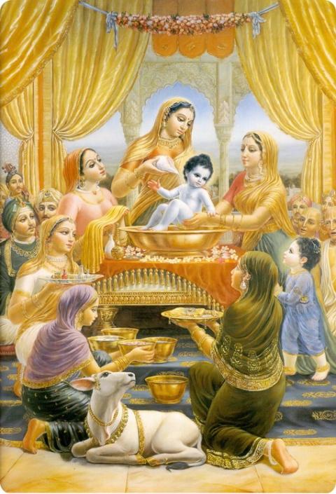 Рождение Кришны. Астрологические факты