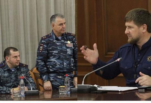 Рамзан Кадыров ..вести из Грозного.
