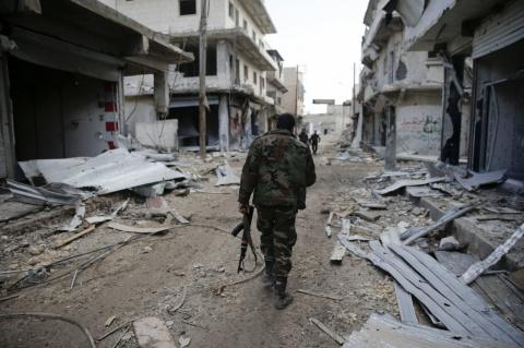 Срочно! В Дамаске боевики обстреляли дипломатический квартал