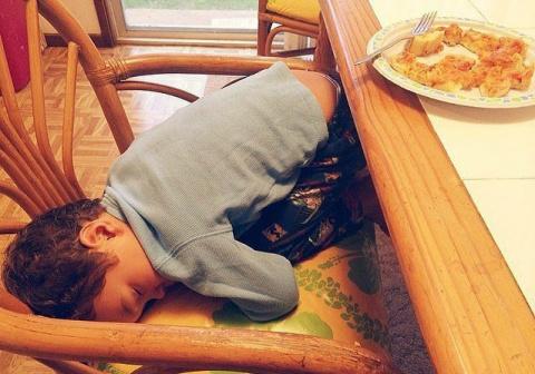 14 фотографий спящих малышей…