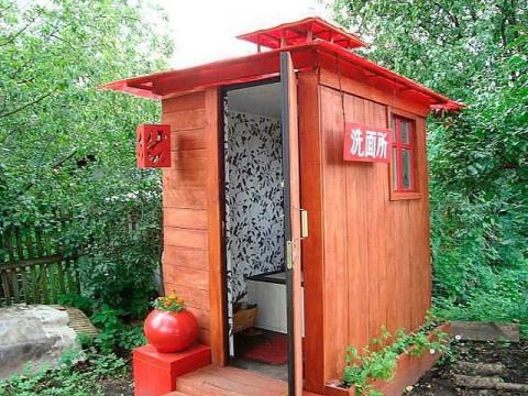 Вот какими должны быть туалеты на даче)