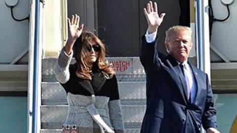 Образ дня: Мелания Трамп в Fendi