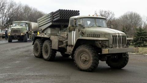 Киев перебросил в сторону Донецка две РСЗО «Град» — Басурин