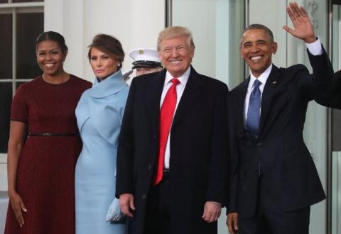 Инаугурация Трампа. Яркие мо…