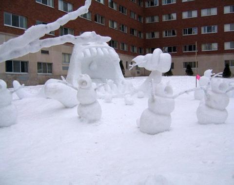Армия самых креативных снеговиков