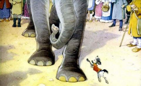 Моська лает на слона. Литва …