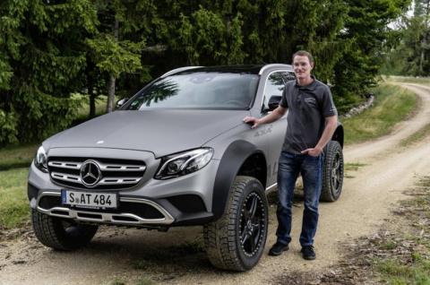 Универсал Mercedes-Benz E-Class превратили в брутальный внедорожник