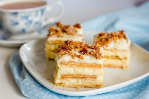 Самый вкусный торт из печень…