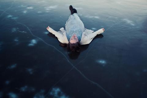 На льду водохранилища нашли …