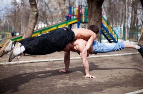Движение Ghetto workout - ул…