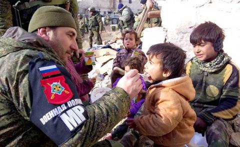 Чечня берет Сирию «на буксир»