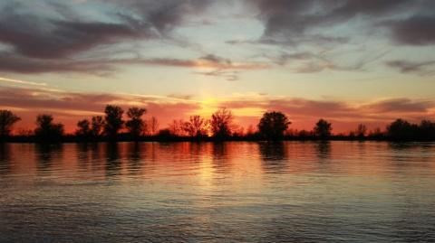 Закат в Гандурино...