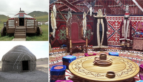 Невзрачные снаружи - потрясающие внутри: великолепные юрты кочевых народов