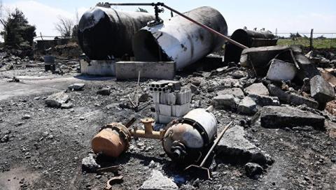 При авиаударе коалиции США погибли двое военных сирийской армии