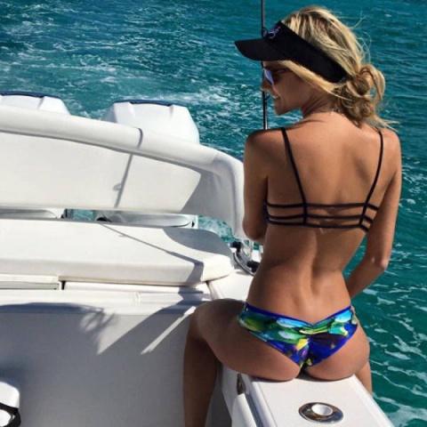 Девушки, обожающие рыбалку
