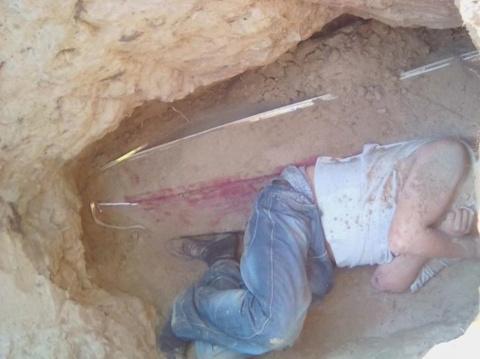 Житель Урала раскопал могилу…