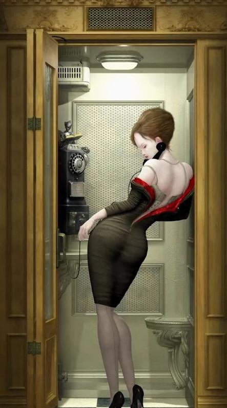 Образ девушек в воображении иллюстраторов 14