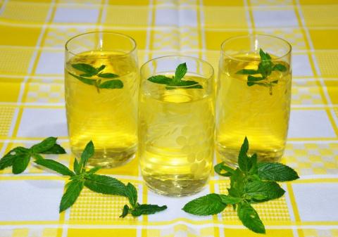 Мятно-лимонный напиток — вол…