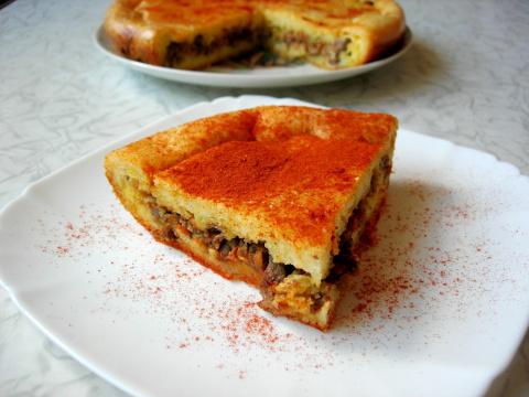 Закусочный пирог с куриной п…