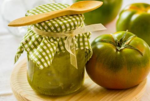 Итальянское варенье из зеленых помидоров