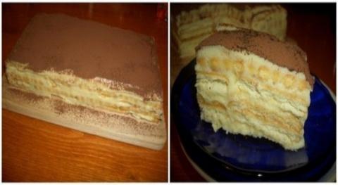 Торт «А-ля тирамису» — бюдже…