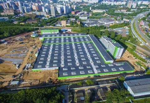 Строительство депо «Лихоборы» в Москве