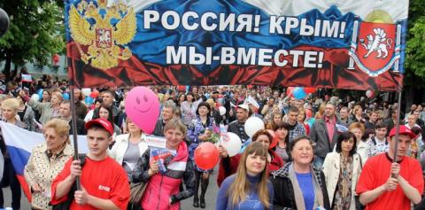 Трамп говорит, что Россия просто взяла, а не захватила Крым