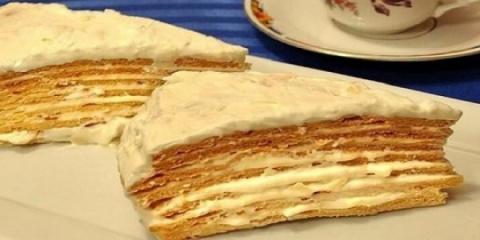 Торт «Парижский коктейль» та…