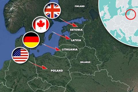 Канада разместит войска в Латвии