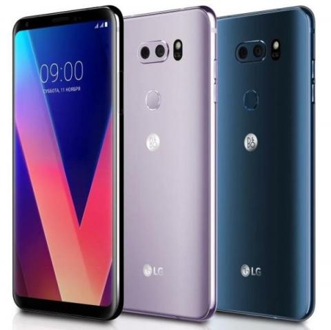 Смартфон LG V30+ оценили для рынка России