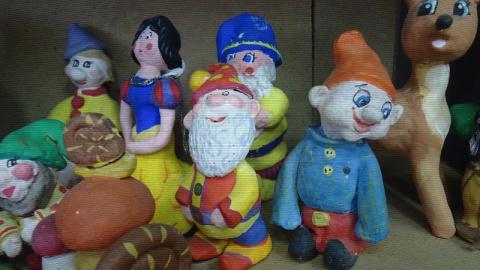 Волшебная страна глиняной игрушки