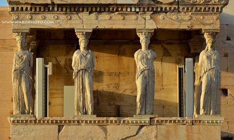 Кто такие Дочери Афин, которых окрестили Кариатидами?