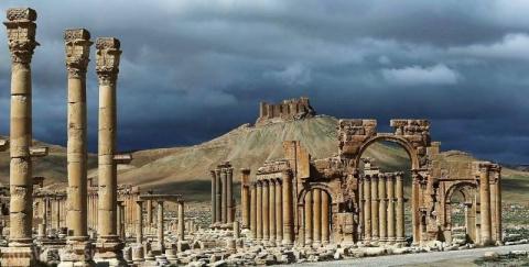 Освобождение Пальмиры: Асад,…
