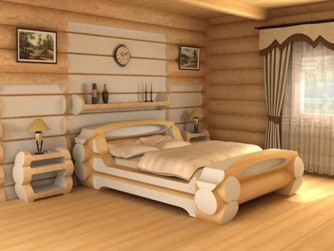 Эко спальня