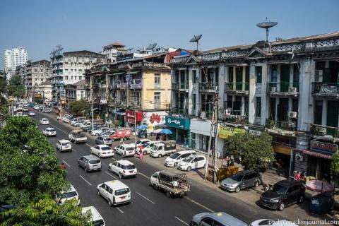 Янгон: бриллиант Британской империи и эталон веротерпимости