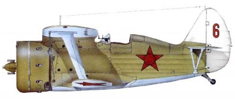 И-153 72 сап ВВС Северного флота, 1941 года