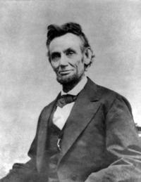 Это сказал...  Авраам Линкольн